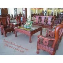 Bộ bàn ghế gỗ gụ Minh Quốc Triện QT2