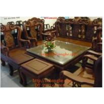 Đồ nội thất Bộ bàn ghế Minh Quốc Hồng QHG05
