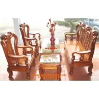 Bộ bàn ghế gỗ hương minh quoc đào V9 QD1