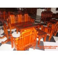 Bộ Bàn Ghế phòng khách Kiểu Tần Thủy Hoàng TTH2