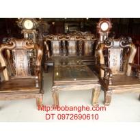 Bộ bàn ghế gỗ mun Minh Quốc Đào GM5