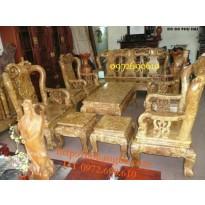 Bàn ghế gỗ nu nghiến Kiểu Minh quốc NG9