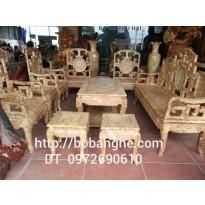 Đồ gỗ Đồng Kỵ Bộ bàn ghế gỗ Nu kiểu Minh móc MM1