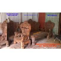 Đồ gỗ nội thát Phú Hải : Bộ bàn ghế Bát Mã BM1