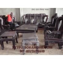 Đồ gỗ nội thất Bộ bàn ghế Hổ Phù Gỗ Trắc V12 GT1