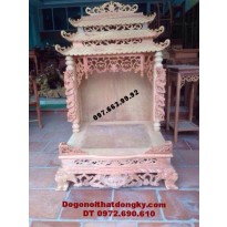 Bàn thờ thần tài ba mái dogodongky.net.vn BTT.20