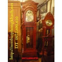 Đồng hồ cây kiểu cổ máy Hàn quốc ĐH27