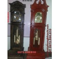 Đồng hồ cây gỗ mun kiểu Cổ ĐH35