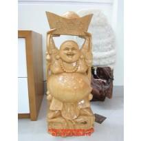 Quà tặng tân gia Phật Di Lặc Gỗ Pơ Mu DL05