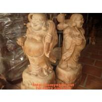 Quà tặng sếp Phật Di Lặc Gỗ Hương DL07
