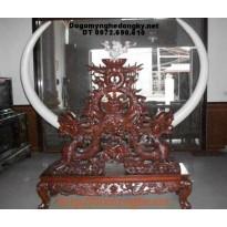 Giá cắm ngà voi , Đồ gỗ mỹ nghệ Phú Hải GN2