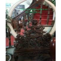 Giá để ngà voi Gỗ Mun GN3