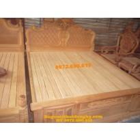 Giường ngủ hồng nhện , Giường đục trám GN28