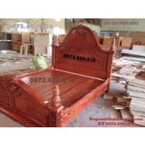 Bán Giường ngủ gỗ gụ , gỗ hương, gỗ mun...GN42