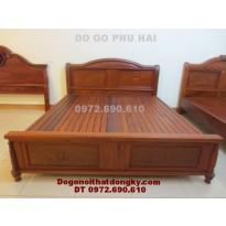 Giường ngủ, Giường gỗ đồng kỵ GN30