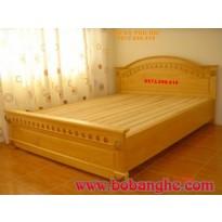 Giường ngủ kiểu Tây ban nha Đồ gỗ Phú Hải GN9