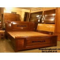 Giường ngủ Cho Phòng Ngủ Đẹp, Giường Gỗ Hương GN73