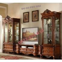 Tủ bày đồ phòng khách, Tủ để Tivi đẹp KTV35