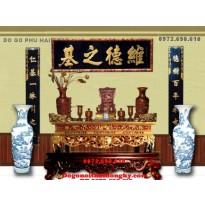 Bàn thờ gia tiên, bàn thờ đẹp đồ gỗ phú hải ST55