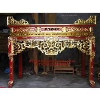 Án gian thờ gỗ gụ sơn son thếp vàng ST44