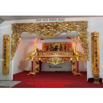 Bàn thờ gỗ gụ, Sập thờ kich thước lỗ ban BT52
