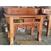Bàn thờ gia tiên đẹp, Bàn thờ nhị cấp gỗ hương ST62