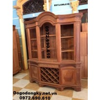Mẫu tủ rượu đẹp, tủ bày rượu dogodongky.net.vn TR17