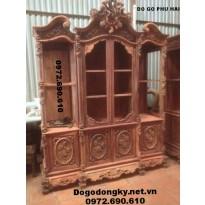Mẫu tủ để rượu đẹp, Tủ bày giá rẻ dogodongky.net.vn TR18