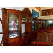Nơi bán Tủ để rượu đẹp, Tủ rượu gỗ hương TR14