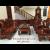 Mẫu Bộ Bàn Ghế Phòng Khách Đẹp Gỗ Hương Kiểu Tần Cong B.324